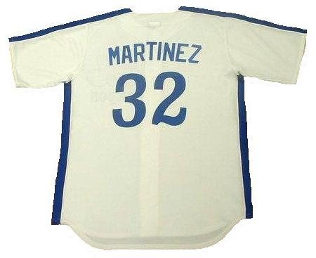 Dennis Martinez 1989 Expos Home Throwback Jersey