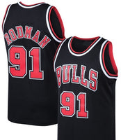 Dennis Rodman 97 - 98 Chicago Bulls Throwback Jersey
