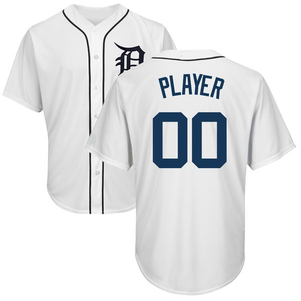 Detroit Tigers Style Customizable Baseball Jersey