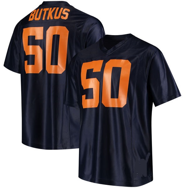 Dick Butkus Illinois Fighting Illini Throwback Jersey