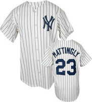 Don Mattingly New York Yankees Pinstripe Home Throwback Jersey