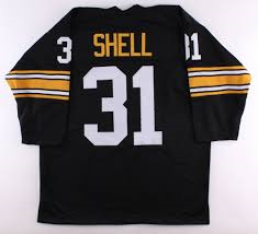 Donnie Shell Pittsburgh Steelers Long Sleeve Jersey