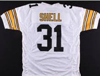 new arrival e1daa a49a5 Donnie Shell Pittsburgh Steelers Throwback Football Jersey