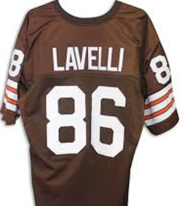 half off 284ec 3ca71 Donte Lavelli Cleveland Browns Throwback Football Jersey