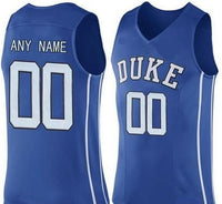 Customizable Duke Blue Devils College Style Basketball Jersey