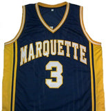 Dwayne Wade Marquette Golden Eagles Jersey