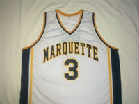 Dwayne Wade Marquette Golden Eagles Throwback Jersey