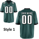Philadelphia Eagles Customizable Football Jersey