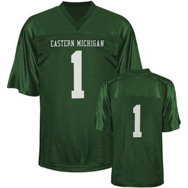 Customizable Eastern Michigan Eagles Style Football Jersey