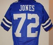Ed Too Tall Jones Dallas Cowboys Throwback Jersey
