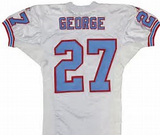 Eddie George Houston Oilers Jersey