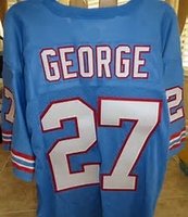 Eddie George Houston Oilers Football Jersey