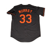Eddie Murray Baltimore Orioles Black Throwback Jersey
