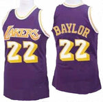 Elgin Baylor Los Angeles Lakers Throwback Basketball Jersey