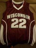 Ethan Happ Wisconsin Badgers Basketball Jersey