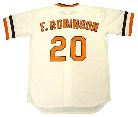 Frank Robinson Baltimore Orioles Baseball Jersey (In-Stock-Closeout) Size XXL/52 Inch Chest