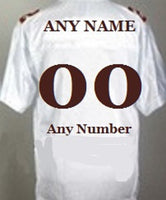 Florida State Seminoles Customizable Throwback Style Football Jersey