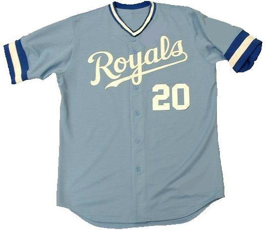 the best attitude bd610 b2d69 Frank White Kansas City Royals Throwback Jersey