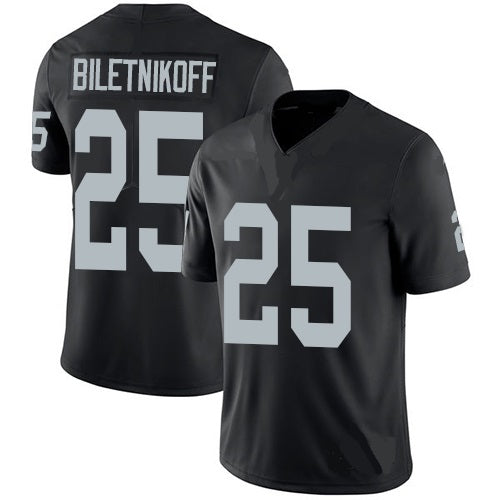 Fred Biletnikoff Oakland Raiders Throwback Football Jersey