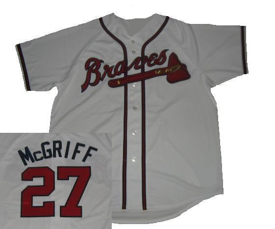 Fred McGriff Atlanta Braves Home Jersey