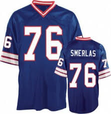 separation shoes a19ed b0e57 Fred Smerlas Buffalo Bills Throwback Football Jersey