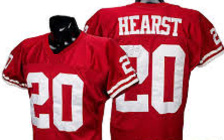 best website 3e3ea a2143 Garrison Hearst San Francisco 49ers Throwback Football Jersey