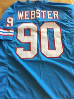 George Webster Houston Oilers Throwback Jersey