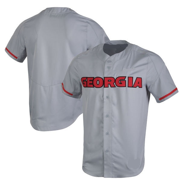 Georgia Bulldogs Customizable College Baseball Jersey