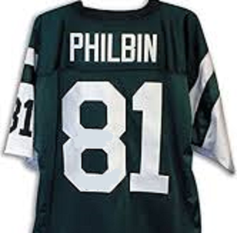 Gerry Philbin New York Jets Throwback Football Jersey