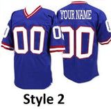 New York Giants Style Customizable Jersey