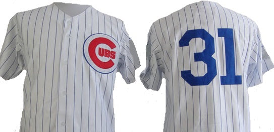 Greg Maddux Chicago Cubs Vintage Style Home Throwback Jersey