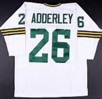 Herb Adderley Green Bay Packers Long Sleeve Jersey