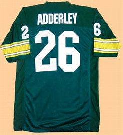 Herb Adderley Green Bay Packers Throwback Football Jersey