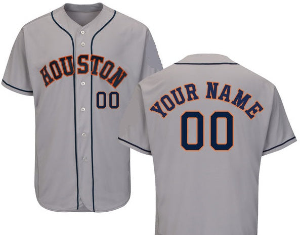 Houston Astros Personalizable Baseball Jersey