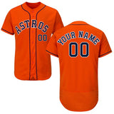 Houston Astros Customizable Baseball Jersey