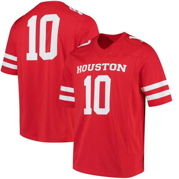 Houston Cougars Customizable College Football Jersey