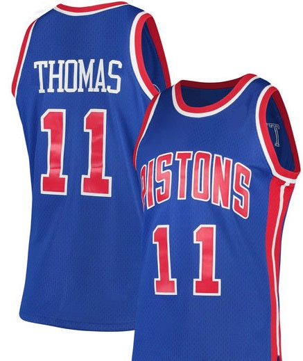 Isiah Thomas 1988-89 Detroit Pistons Throwback Jersey