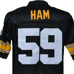 Jack Ham Pittsburgh Steelers Throwback Football Jersey