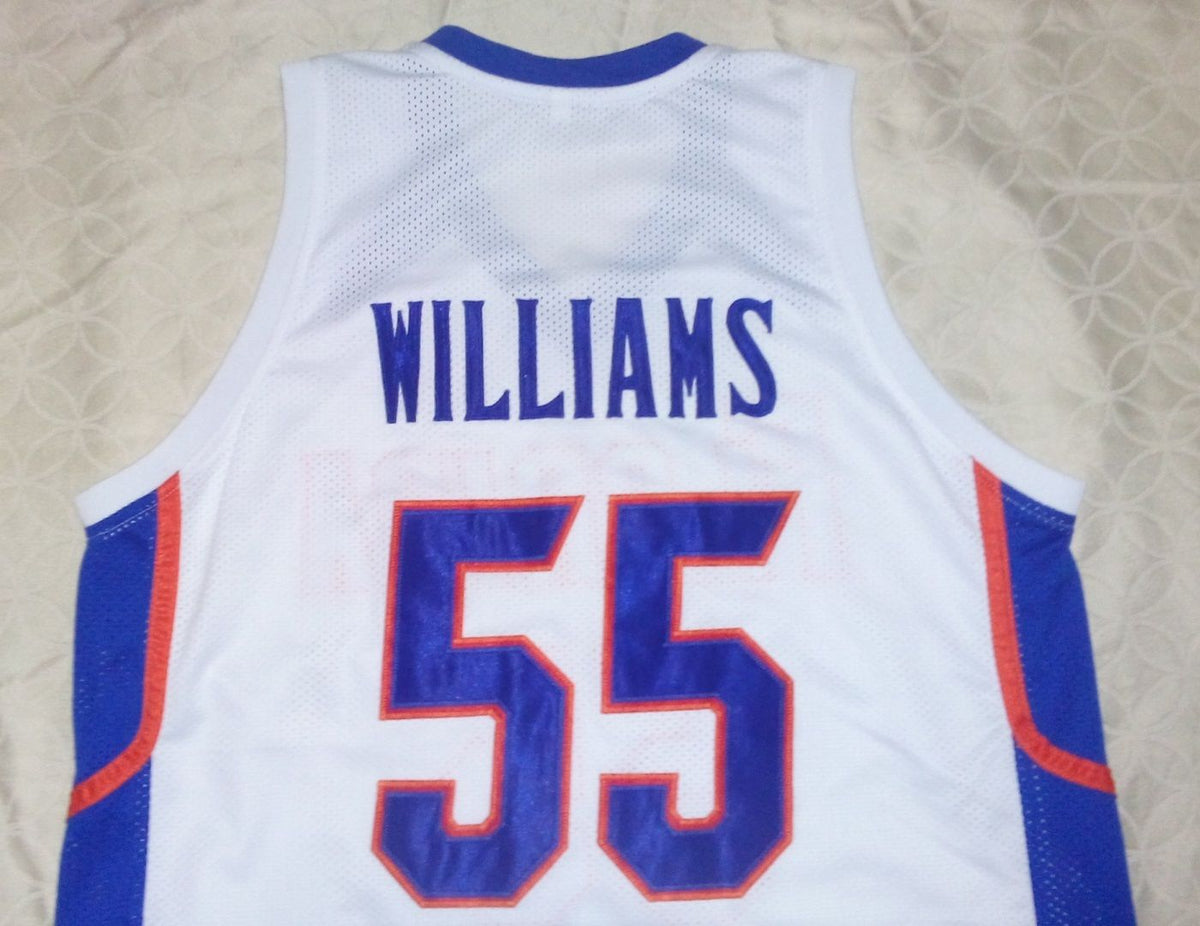 quality design d01fc 57c4f Jason Williams Florida Gators College Basketball Throwback Jersey