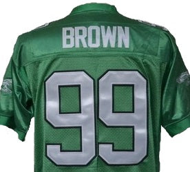 Jerome Brown Philadelphia Eagles Throwback Jersey