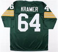 Jerry Kramer Green Bay Packers Long Sleeve Throwback Jersey