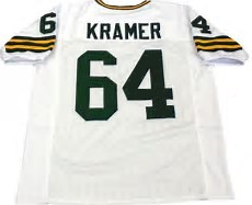 Jerry Kramer Green Bay Packers Throwback Football Jersey