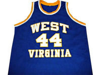 Jerry West West Virginia Mountaineers Jersey
