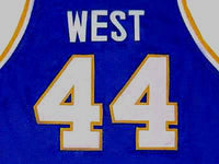 Jerry West West Virginia Mountaineers College Jersey