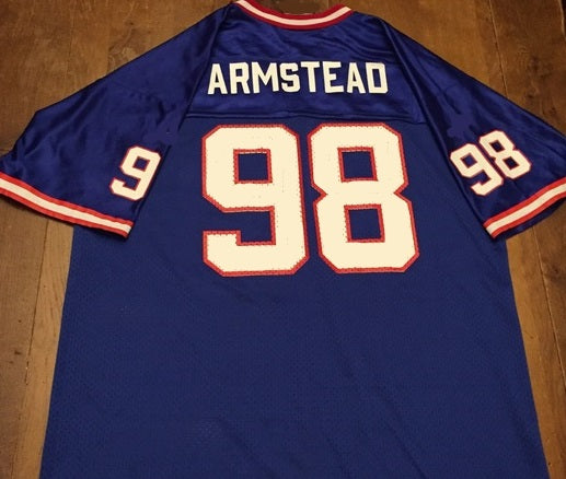 Jessie Armstead New York Giants Throwback Football Jersey