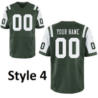 New York Jets Style Customizable Throwback Jersey