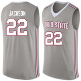 Jim Jackson Ohio State Buckeyes College Basketball Jersey