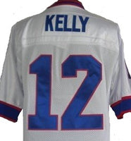 Jim Kelly Buffalo Bills Throwback Football Jersey