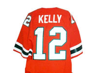 Jim Kelly Miami Hurricanes Football Jersey