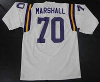 Jim Marshall Minnesota Vikings Long Sleeve Jersey